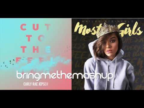 MOST GIRLS CUT TO THE FEELING | Carly Rae Jespen vs. Hailee Steinfeld (Mashup)