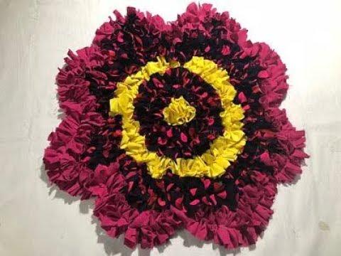 5 ???? ??? ?????? ???? ?? ???? flower door mat / table mat