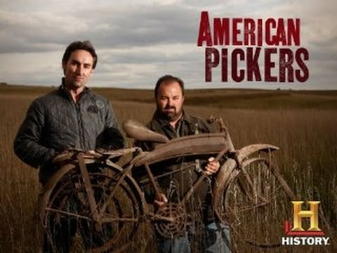 Visit to American Pickers Antique Archaeology shop in LeClaire, Iowa 2014