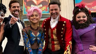 THE GREATEST SHOWMAN BTS FT. ZAC EFRON || HUGH JACKMAN