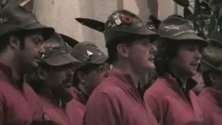 Coro Brigata Alpina Julia Congedati - Sul ponte di Perati - Campoformido (UD) 05-11-2011