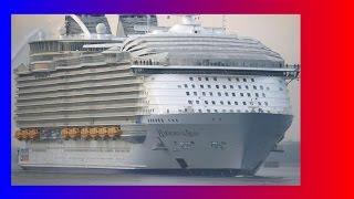 океанские лайнеры видео