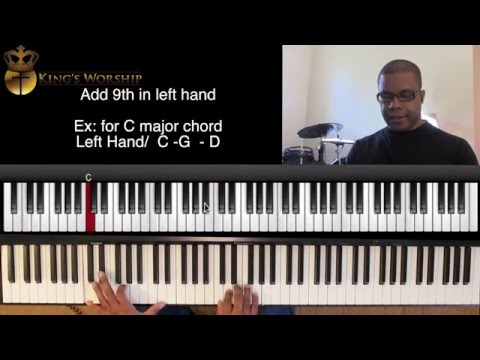 How to Play Worship Piano Chords- Music Theory (Using Major 2nd and 9ths)