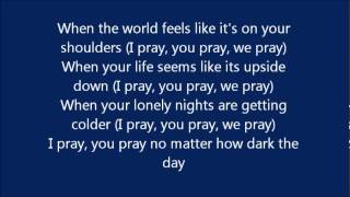 pray - cece winans lyric video
