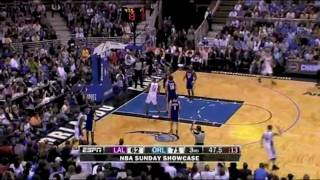 [BB] Los Angeles Lakers vs Orlando Magic Game Highlights 3/7/10