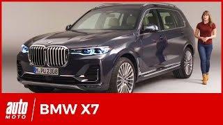 BMW X7 : le mastodonte de Munich se dévoile en vidéo