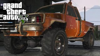 GTA 5 - Mudding with Custom Mud-Truck