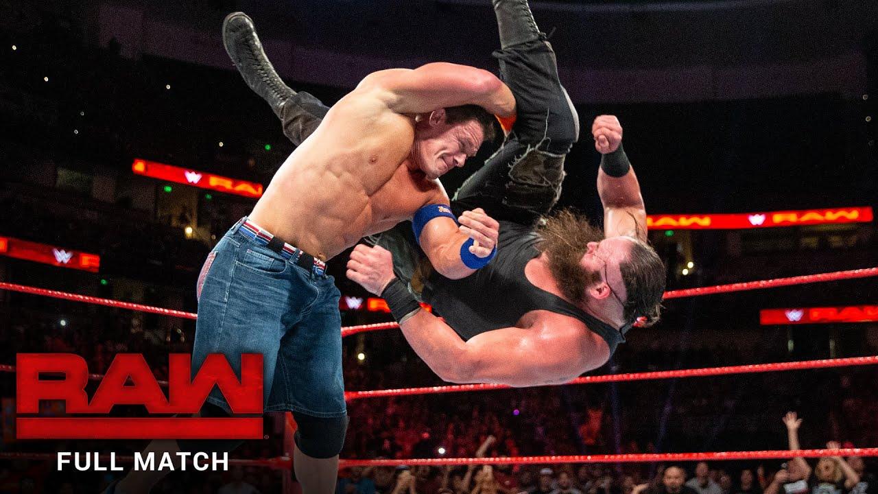 FULL MATCH - John Cena vs. Braun Strowman: Raw, September 11, 2017