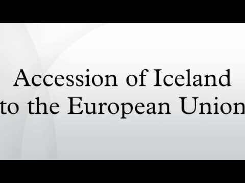 Accession of Iceland to the European Union