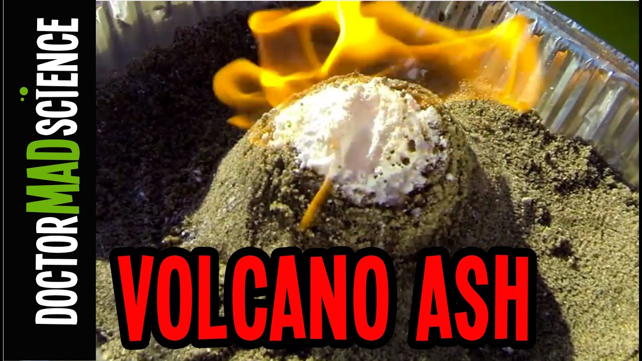 how to make a volcano youtube