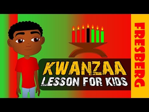 What is Kwanzaa? Check out this Kwanzaa for Kids Cartoon (Educational Videos)