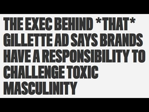 The Author of the Gillette Ads Speaks - YouTube