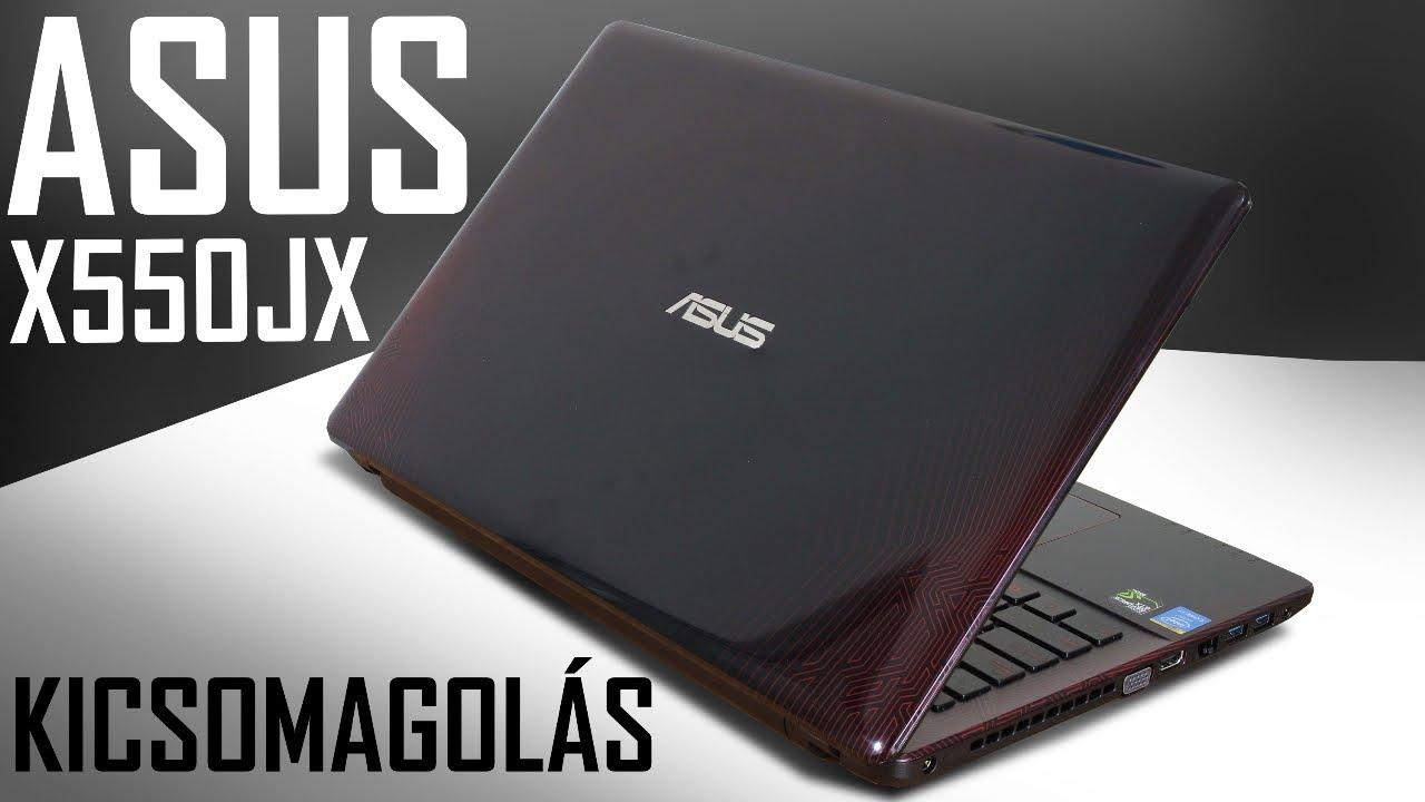 Asus X550JX Laptop Drivers for Windows Mac
