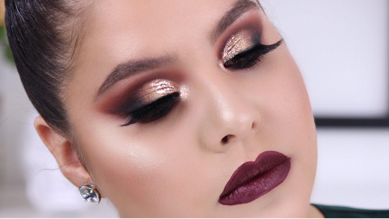 Morphe 3502 Palette Makeup Tutorial Warm Smokey Eye Nelly Toledo Makeup Like Pro