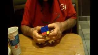 """""""Scott Spears Now"""" with Ox Baker solving a Rubiks Cube (Episode 88) (2/12/14)"""