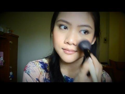 Makeup No Makeup ด้วย เครื่องสำอางค์ 8 ชิ้น | Yueiiz