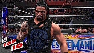 Roman Reigns Top 10 Greatest Wins! ( WWE 2K18 )
