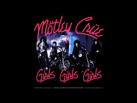 Motley Crue - Girls girls girls drums backing track w/vocals