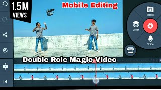 Kinemaster tutorial, Funny clips, Nagin effect, double role