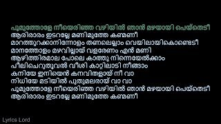 പൂമുത്തോളേ KARAOKE (Joseph) Poomuthole Karaoke With Malayalam Lyrics