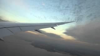 ANA Boeing 787 Landing to Haneda Tokyo International airport