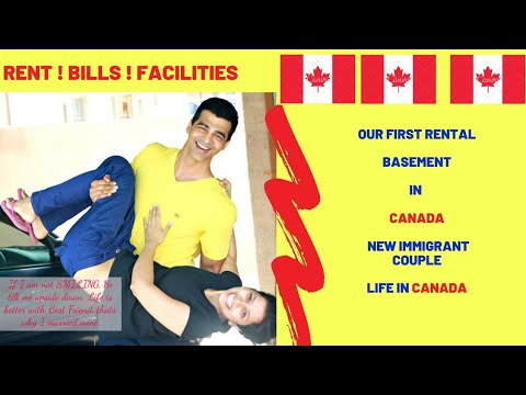 Our Rental Basement Tour In Canada : Life In Canada