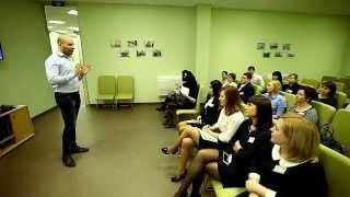 Рустам Валеев - Тренинг для менеджеров активных продаж Сбербанка тема: