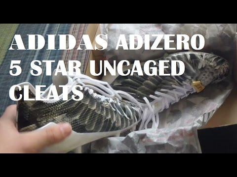 45576a4908c Adidas Adizero 5 Star 6.0 Uncaged Cleats - YouTube