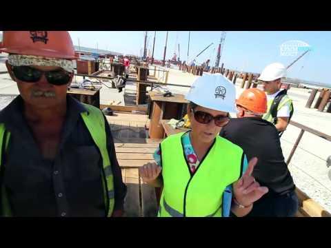 """""""Я забиваю"""" - Гимн строителей Керченского моста в Крым"""