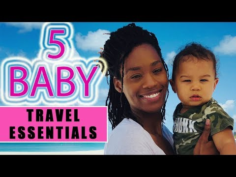 BABY TRAVEL ESSENTIALS | 5 Must Have Items for Traveling With Baby | Doona Stroller, Baby Bjorn Crib