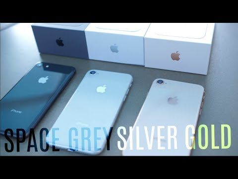 iPhone 8: Space Grey vs Gold vs Silver!