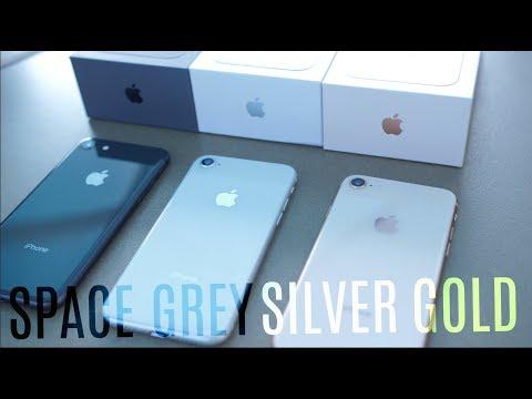 IPhone 8: Space Grey Vs Gold Vs Silver!