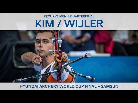Kim Woojin v Steve Wijler  recurve mens quarterfinal | Samsun 2018
