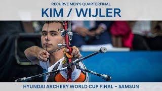 Kim Woojin v Steve Wijler – recurve men's quarterfinal | Samsun 2018