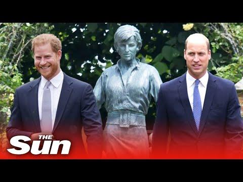 Princess Diana statue unveiling  – Prince Harry & William to reunite for emotional memorial