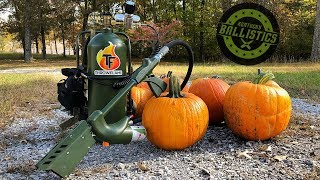 Flamethrower vs Pumpkins