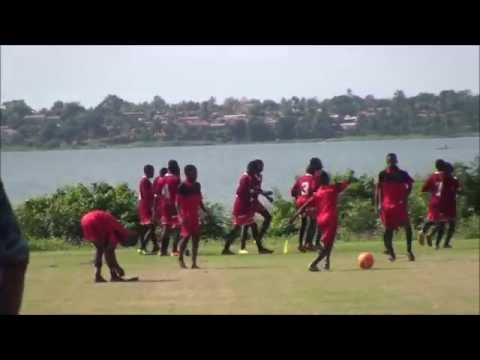 Oxano Agoè-Nyivé Football Club - Echauffement d'avant-match U15 - Lac Togo