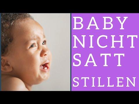 Woran merke ich, dass mein Baby nicht satt wird durchs Stillen?
