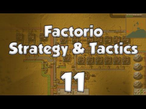 Factorio Strategy & Tactics 11: Sunday Driver