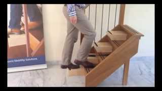 traplift alternatief; Rechte- gebogen trappen, steile en/of smalle trappen, trapgat