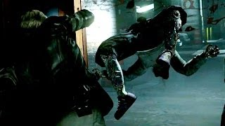 Resident Evil 6 Slow Motion Zombie Fight