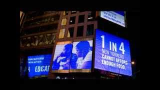 Video Times Square - Thomson Reuters Building Billboard download MP3, 3GP, MP4, WEBM, AVI, FLV Juni 2018
