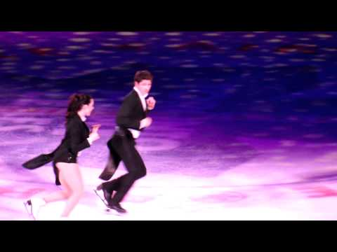 2014 Stars on Ice Patrick Chan Tessa Virtu & Scott Moir
