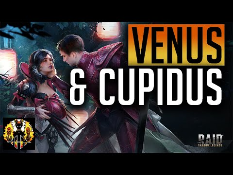 RAID: Shadow Legends | Venus & Cupidus Guides!! Lovers Duo!