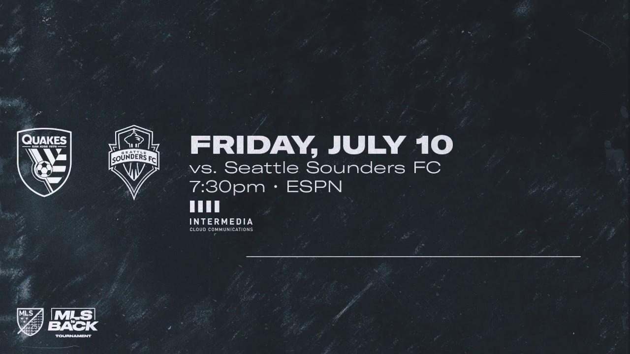 MLS is Back | July 10 #SJvSEA