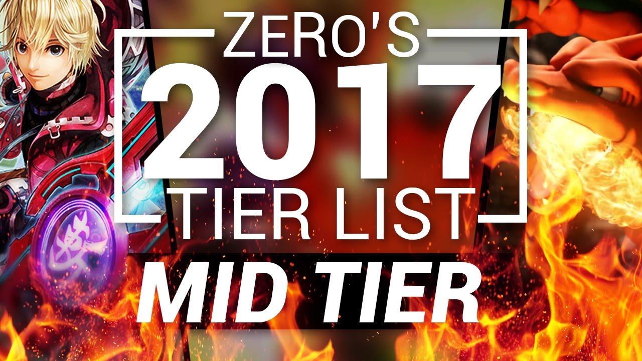 Super Smash Bros Wii U - Tier List (1.1.6) - Top Tier ...