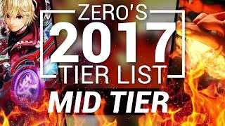 Competitive Super Smash Bros Wii U Tier List - Mid Tier (TSM ZeRo)
