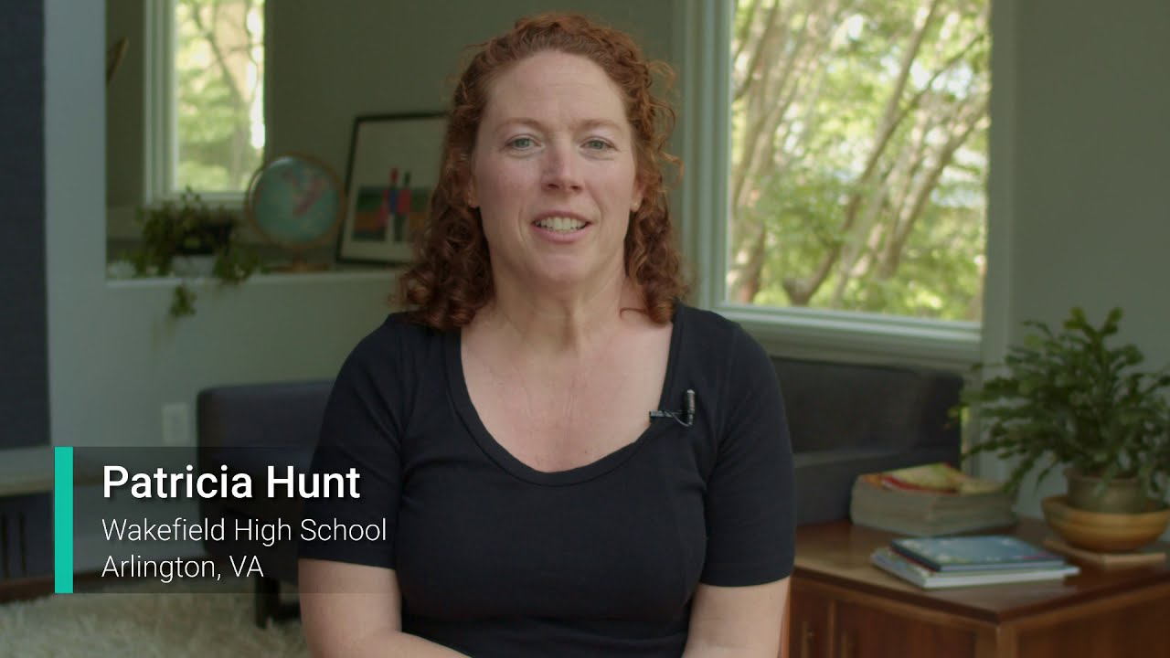 Patricia Hunt: 2020 Educator of the Year