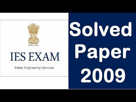 Engineering Services Exam 2009