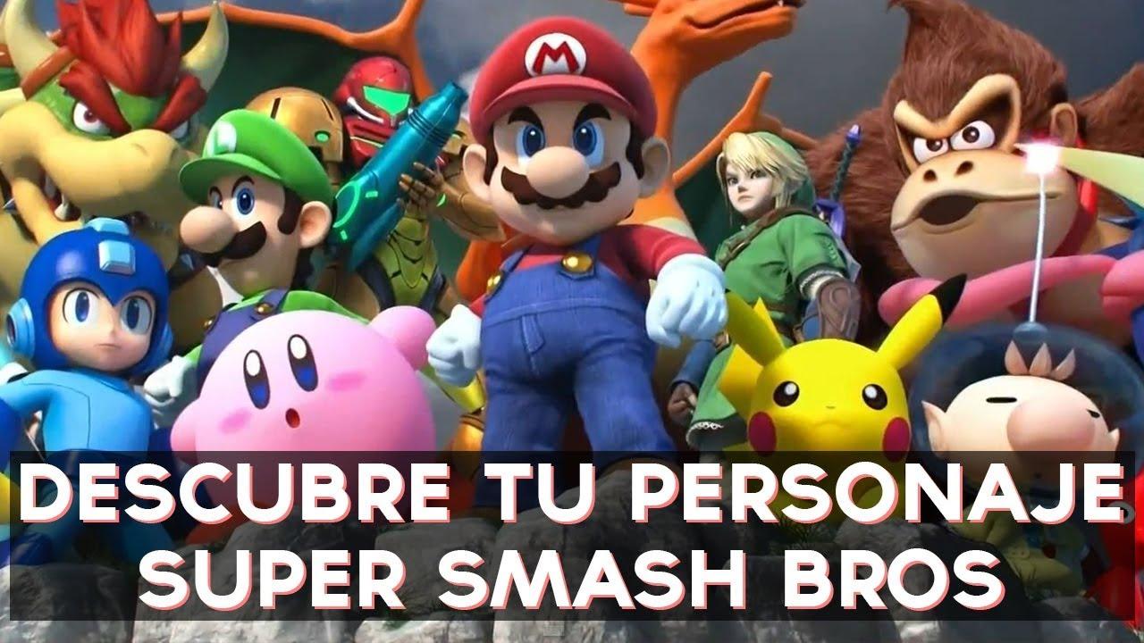 ¿Qué personaje de Super Smash Bros eres? | Test Divertidos